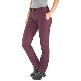 Black Diamond Alpine lange broek Dames rood